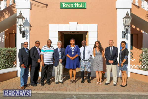 St. George's Town Councillors Sworn In