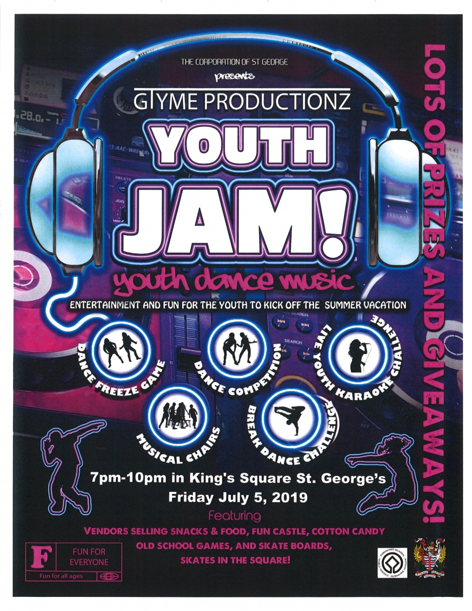 GTYME PRODUCTIONZ - YOUTH JAM! - JULY 5TH, 2019