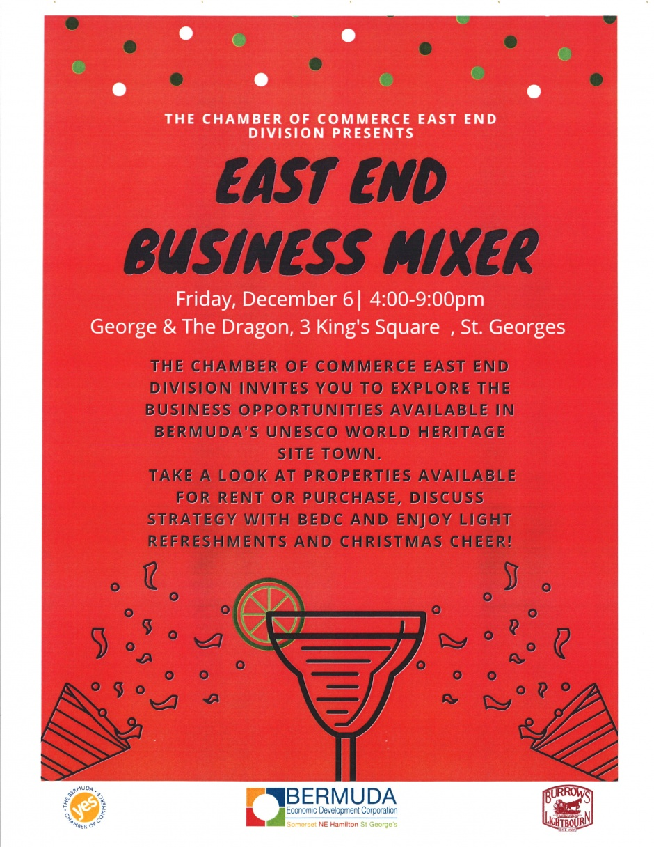 EAST END BUSINESS MIXER