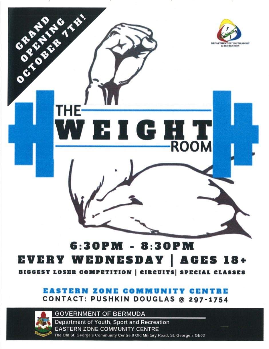EASTERN ZONE COMMUNITY CENTRE - THE WEIGHT ROOM