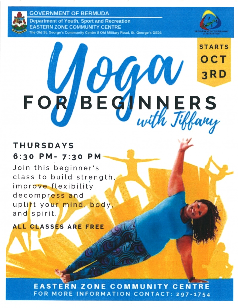 EASTERN ZONE COMMUNITY CENTRE - YOGA FOR BEGINNERS