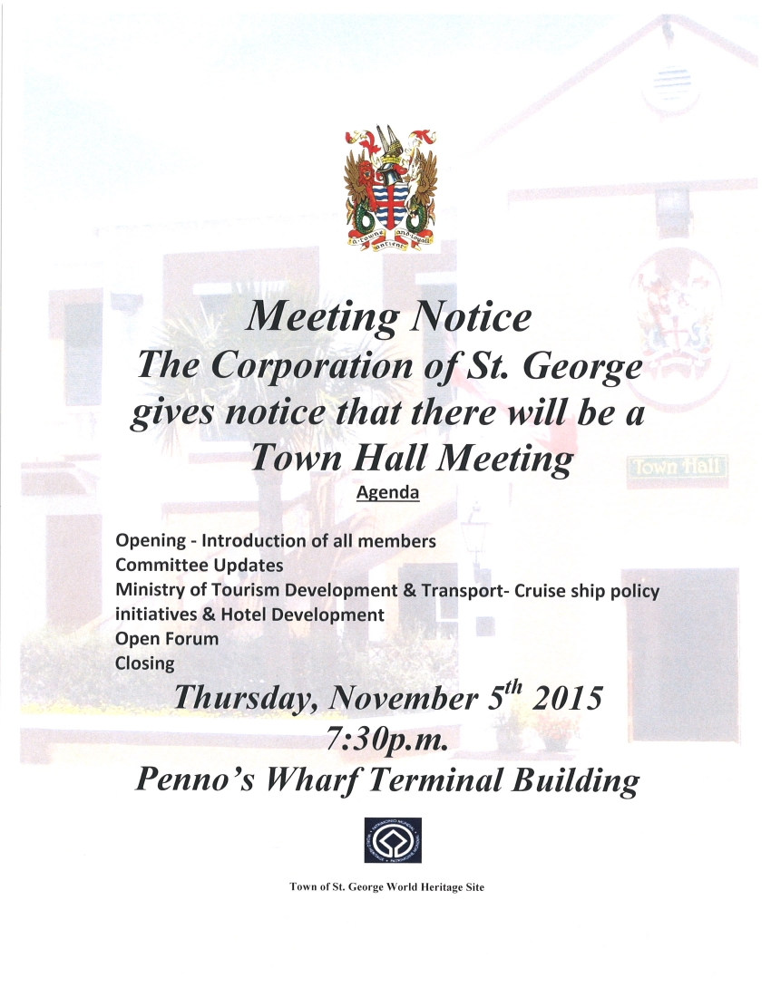 Public Meeting - November 5th, 2015