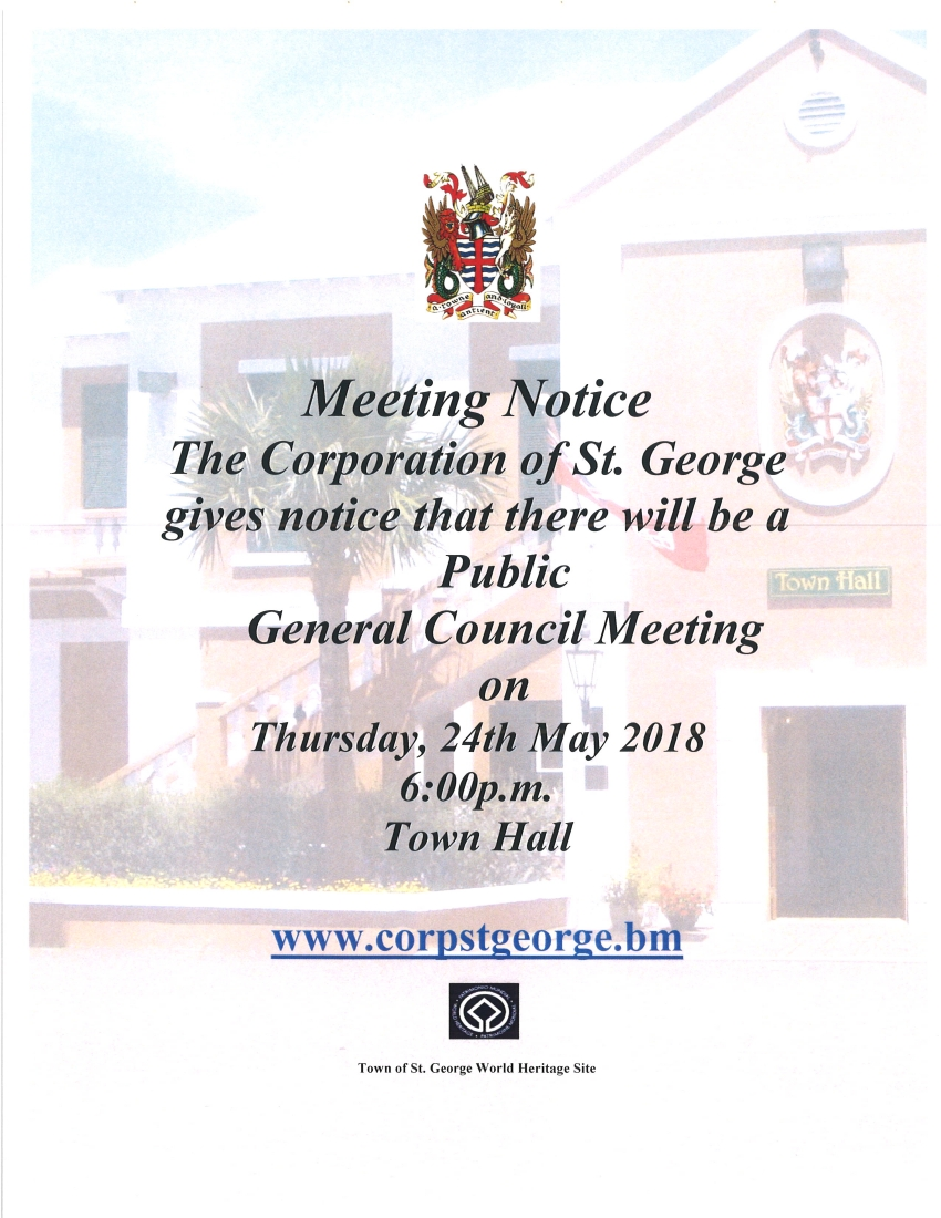 CORPORATION GENERAL COUNCIL MEETING MAY 24th